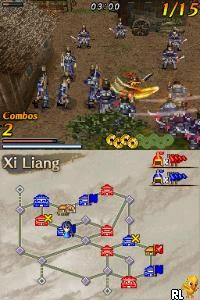 Dynasty Warriors DS - Fighter's Battle (USA)