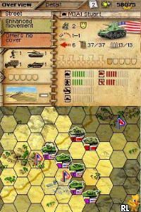 Panzer Tactics DS (Europe) (En,Fr,De,Es,It)