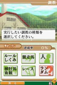 Sankei Sports Kanshuu - Keiba Ryoku Nintei Shiken - Baken DS (Japan)