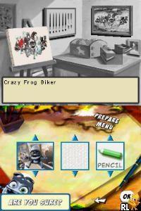 Crazy Frog Collectables - Art School (Europe) (En,Fr,De,Es,It)