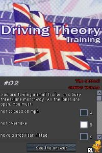 Driving Theory Training (Europe)