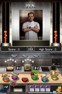 Hell's Kitchen - The Game (USA) (En,Fr,De,Es,It)