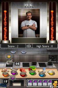 Hell's Kitchen - The Game (Europe) (En,Fr,De,Es,It)