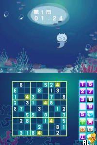 Umiuru to Sudoku Shiyo! - Nikoli Gensen 7 Dai Puzzle 555 Mon (Japan)