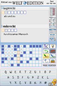 Kreuzwortraetsel DS - Welt Edition (Germany)