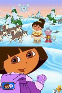 Dora the Explorer - Dora Saves the Snow Princess (Europe) (En,Fr,Nl)