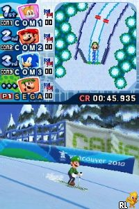 Mario & Sonic at the Olympic Winter Games (USA) (En,Fr,Es)