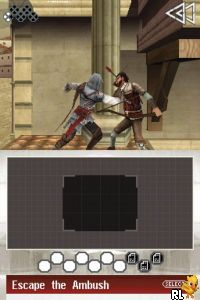 Assassin's Creed II - Discovery (Europe) (En,Fr,De,Es,It,Nl,Sv,No,Da) (NDSi Enhanced)