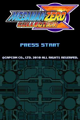 Mega Man Zero Collection (USA)