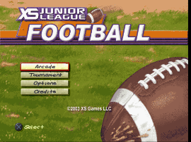 XS Junior League Football