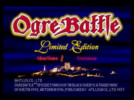 Ogre Battle - Limited Edition