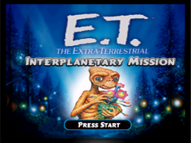 E.T. the Extra-Terrestrial - Interplanetary Mission
