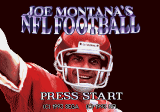Joe Montana's NFL Football
