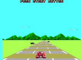 Out Run 3-D (Europe)