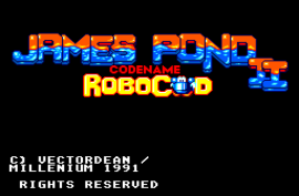 James Pond 2 - Codename RoboCod (Europe)