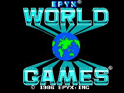 World Games (Europe) (Beta)