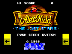 Alex Kidd - The Lost Stars (World)