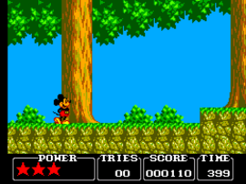 Castle of Illusion Starring Mickey Mouse (Europe)