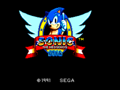 Sonic The Hedgehog (USA, Europe)