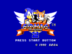 Sonic The Hedgehog 2 (Europe)