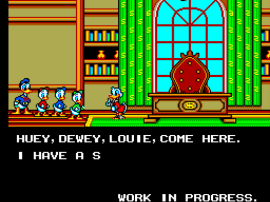 Lucky Dime Caper Starring Donald Duck, The (Europe) (Beta)