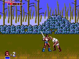 Golden Axe (USA, Europe)
