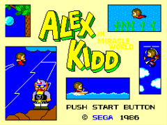 Alex Kidd in Miracle World (USA, Europe)