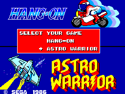 Hang-On & Astro Warrior (USA)