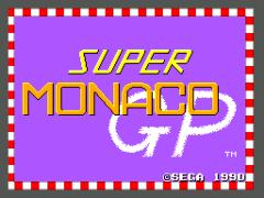 Super Monaco GP (Europe)