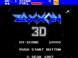 Zaxxon 3-D (World) (Beta)