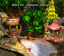 Donkey Kong Country (USA) (Rev B)