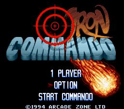 Iron Commando (Europe) (Proto)