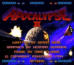 Apocalypse II (Europe) (Proto)