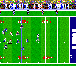 Tecmo Super Bowl (USA) (Beta)