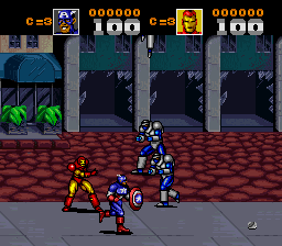 Captain America and the Avengers (Europe)
