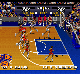 Tecmo Super NBA Basketball (Europe)