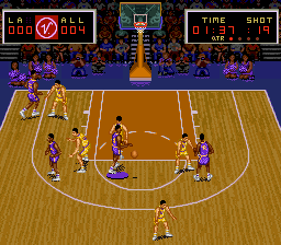 Magic Johnson no Super Slam Dunk (Japan)