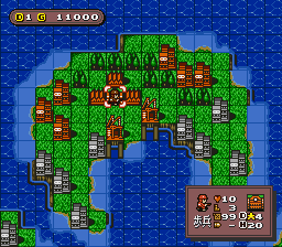 BS Super Famicom Wars - BS Ban (Japan)