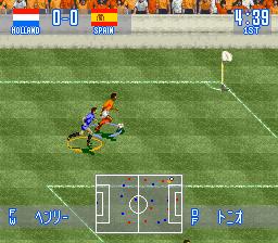 Jikkyou World Soccer - Perfect Eleven (Japan)