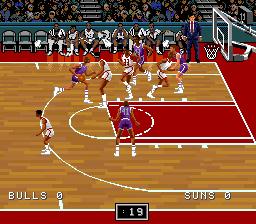 NBA Pro Basketball '94 - Bulls vs Suns (Japan)