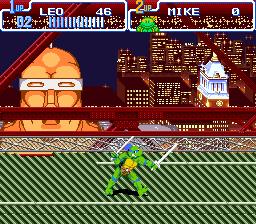 Teenage Mutant Ninja Turtles IV - Turtles in Time (USA) (Beta)