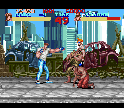 Final Fight (Europe)