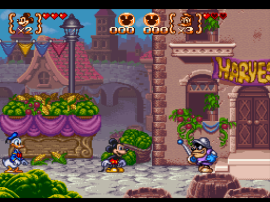 Mickey to Donald - Magical Adventure 3 (Japan) [En by RPGOne v1.1] (~Mickey & Donald - Magical Adventure 3)