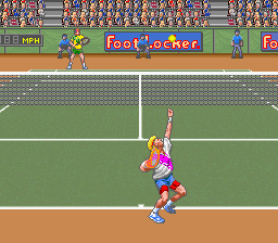 David Crane's Amazing Tennis (Europe)