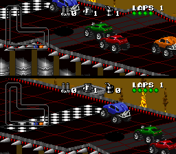 Rock And Roll Games >> Play Snes Rock N Roll Racing Usa Online In Your Browser