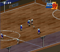 FIFA '97 - Gold Edition (Europe) (En,Fr,De,Es,It,Sv)