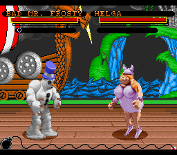 Clay Fighter (Europe)