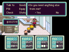 EarthBound (USA) [Hack by Mr. Accident v1.1] (~EarthBound - 10th Anniversary Celebration)