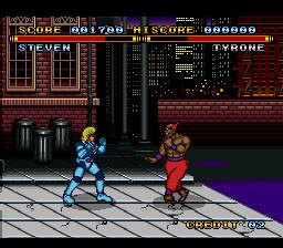 Street Combat (Europe)