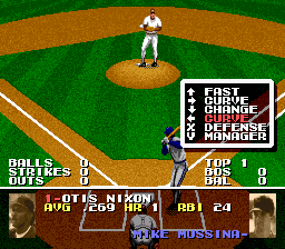 Tecmo Super Baseball (USA) (Beta)